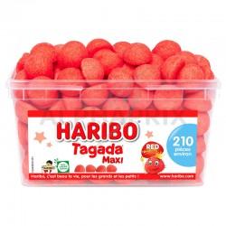 Haribo Tubo de 210 Fraises Tagada en stock
