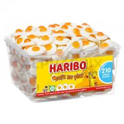 Haribo Tubo de 210 Oeufs au plat en stock