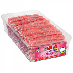 Haribo Tubo de 150 Sticks Fraise Pik