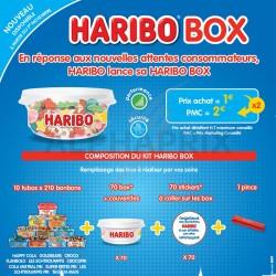 Kit Haribo box 2021 (104830) en stock