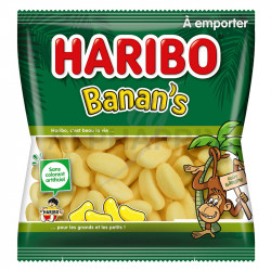 Banan's sachets 120g Haribo