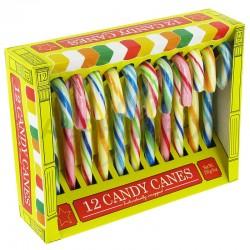 Candy canes en boîte de 12