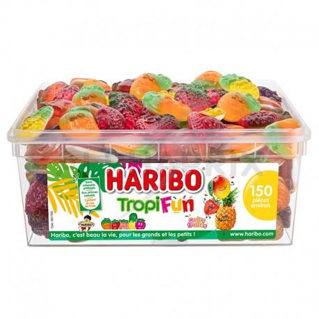 Haribo Tropifun 150 pièces tubo