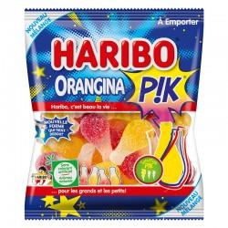 Orangina Pik sachets 120g Haribo en stock
