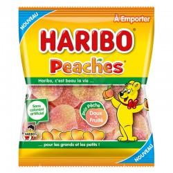 Peaches sachets 120g Haribo
