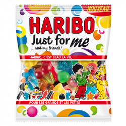 ~Just for me sachets 120g Haribo