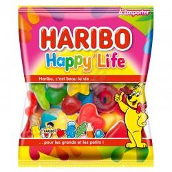 Happy life sachets 120g Haribo en stock