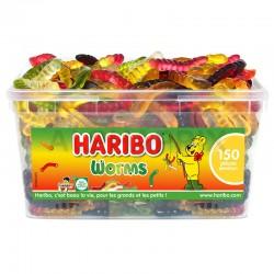Haribo Worms par 150