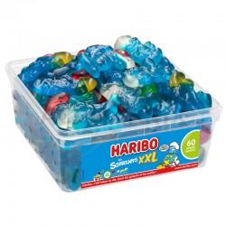 Haribo Schtroumpfs XXL 60 pièces tubo