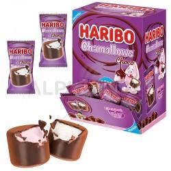 Haribo mini sachets Chamallows choco en stock