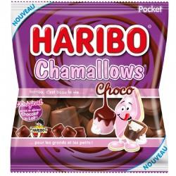 Chamallows choco sachets 75g Haribo en stock