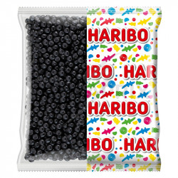 Haribo Dragibus noirs kg en stock