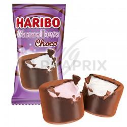 ~Haribo chamallows choco flowpack - carton de 500 en stock