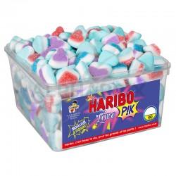 Haribo Tubo de 150 Love Pik en stock