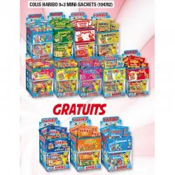 Colis Haribo 9+3 mini sachets - 104702