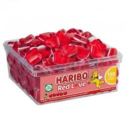 Haribo red love - tubo de 150