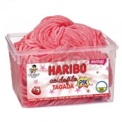 Haribo Tubo de 300 Acidofilo Tagada Pik