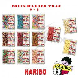 Colis Haribo vrac 9+3 (104700) en stock