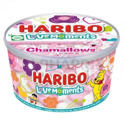 Haribo Chamallow Coeurs Love Moments 350g en stock