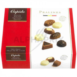 Coffret chocolats Belges assortis 500g cupido