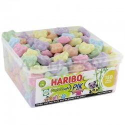 Haribo Pandawai Pik Tubo 150 pièces en stock