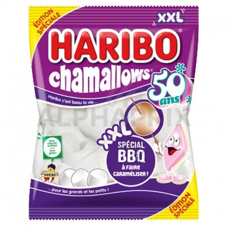 Haribo mega chamallows barbecue 500g