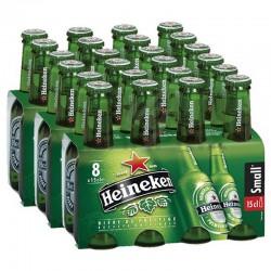 Heineken pack de 8x15cl VP en stock