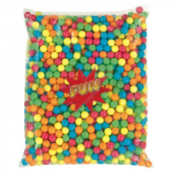 Billes gum kg taille Mini (+-14mm / 2g pièce)