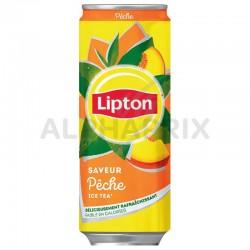 Lipton Ice Tea pêche boîte 33 cl en stock