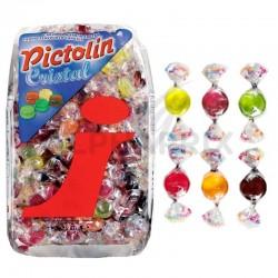 Minis Bonbons cristal fruits kg Intervan