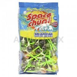 Sucettes space chupi fruits sans sucre en sac économique en stock