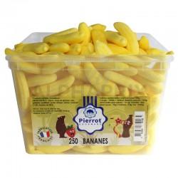 Bananes tendres tubo Pierrot Gourmand en stock