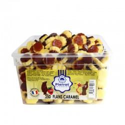 Flans caramel tubo Pierrot Gourmand en stock