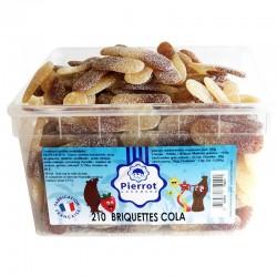 Briquettes cola tubo Pierrot Gourmand en stock