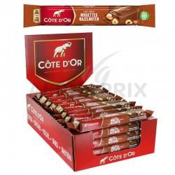 Côte d'Or 45g barre lait noisette
