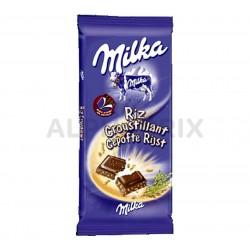 ~Milka riz tablettes de 100g en lot de 2 en stock