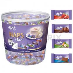 Milka Naps mix tubo 1 kg en stock