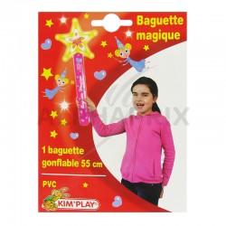 Baguette magique gonflable 55 cm en stock