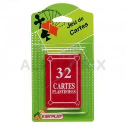 Jeu de 32 cartes - premier prix en stock