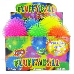 Puffer ball lumineux 10.2cm en stock
