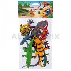 Animaux figurines reptiles en stock