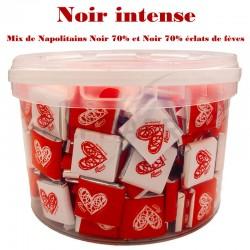 ~Seau Napolitains mix 1.5kg Noir intense en stock