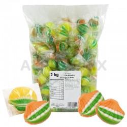 Cok'poudre orange citron plié Kubli