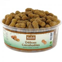 Cacahuètes délices Kubli en tubo de 1kg en stock
