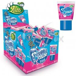 Tubble gum Lutti tache langue gout framboise en stock