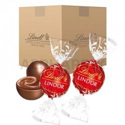 Boules Lindor chocolat lait 10kg