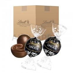 Boules Lindor chocolat noir - 10kg (noir 60%) en stock