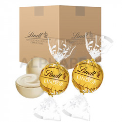 Boules Lindor chocolat blanc 10kg