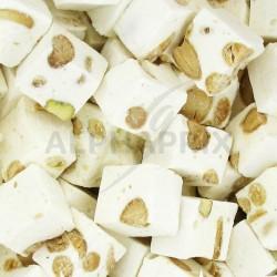 Nougats cassés durs amandes et pistache kg en stock