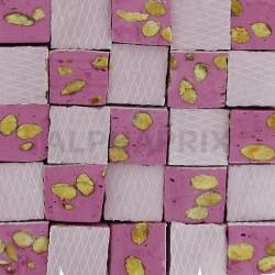 Nougats amandes gros cubes violette kg en stock